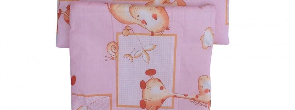 Rózsaszín bébi ágynemű