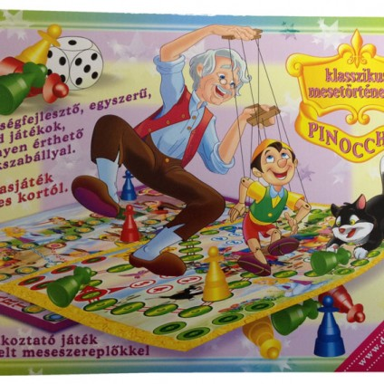 Pinocchio társasjáték